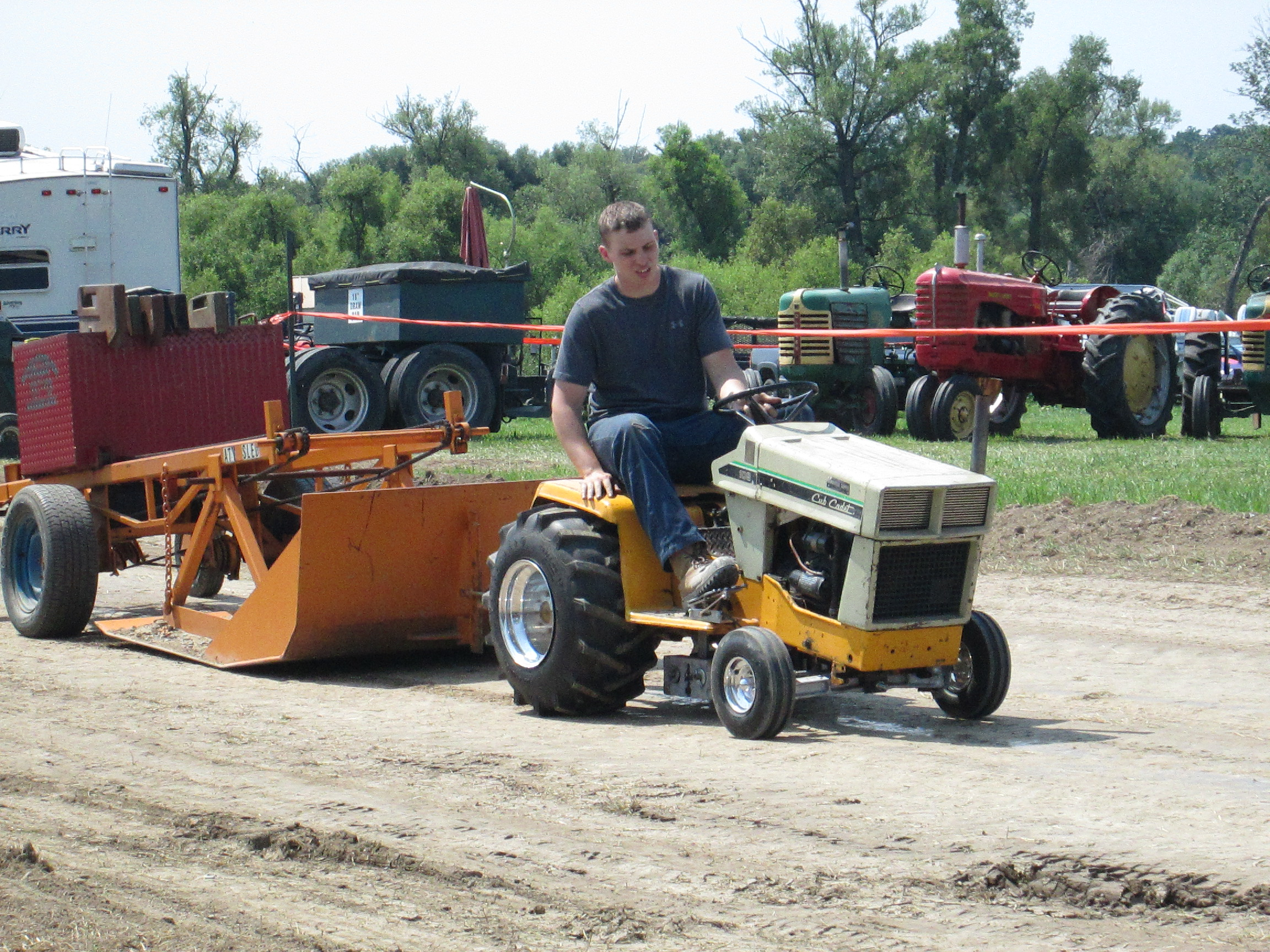 Lawn Tractor Towing : Grand river antique society